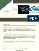 Pruebas Pisa y Saber