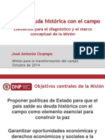 Presentación Documento Marco Director de Misión 20141015