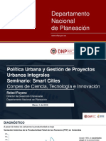 Sistema de Ciudades DNP - 6_Rafael Puyana - Conpes CTI