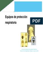 HAQ0504024 Equipos Protección Repiratoria Presentación