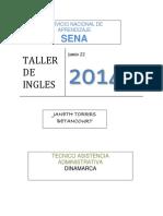 Taller de Ingles