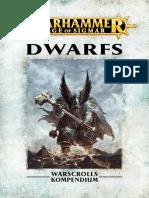 Warhammer Aos Dwarfs De