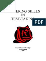 mastering test taking