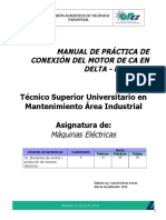 Manual de Práctica Conexion DELTA-ESTRELLA