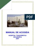 Manual Acogida Celadores- Hospital Txagorritxu