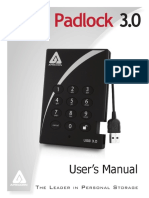 Aegis Padlock 3 Manual