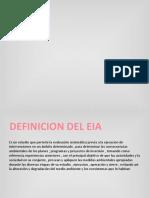 Diapositivas de Impacto Ambiental Eia