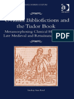 (Material Readings in Early Modern Culture) Lindsay Ann Reid-Ovidian Bibliofictions and the Tudor Book_ Metamorphosing Classical Heroines in Late Medieval and Renaissance England-Ashgate Pub Co (2014)