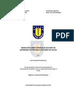 Tesis Reduccion Carbotermica de Sulfuros