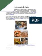 Gastronomía de Italia