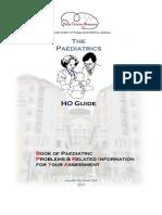 HO Guide Paediatric