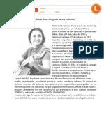 Lectura Violeta Parra