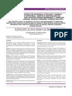 Epidemiologia Obstruccion Intestinal