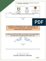 El Curriculum Escenarios y Discursos en La Formación Universitaria -2017
