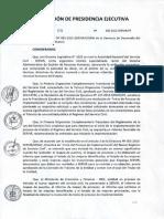 Resolución de Implementacion de Ley Servir - Caso Practico Rr.hh.