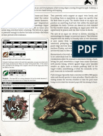 Bestiary - Orboros Argus, Feral