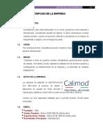 125905557 Trabajo Calimod 2do Avance