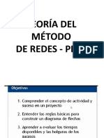 Teoría Método Redes - Pert
