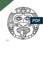 Aztecs Colouring Pages