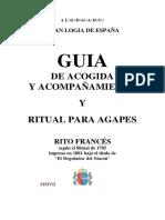 Ritual Agapes _El Regulador Del Mason