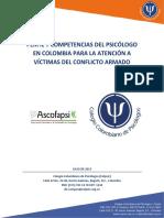 Competencias en Psicologìa Para La Atencion a Victimas Del Conflicto Armado - 23-07-2015