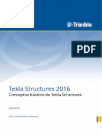 Conceptos Básicos de Tekla Structures