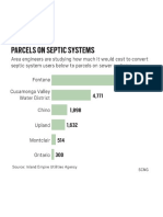 Parcels on septic systems