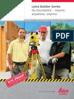 Leica Builder Series Brochure