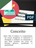 Slide Sobre Mútuo Mercantil