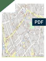 Hotelliste Stadtplan Juni 2017