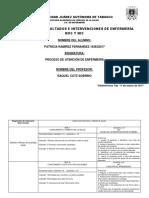 SELECCIÓN DE RESULTADOS E INTERVENCIONES DE ENFERMERÍA  NOC Y NIC