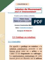310109881 Guidage en Rotation Chapitre 2 Premiere Partie
