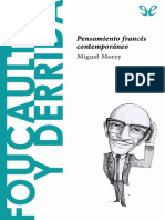 [Descubrir La Filosofia 27] Morey, Miguel - Foucault y Derrida. Pensamiento Frances Contemporaneo