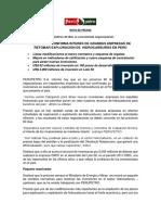 PERUPETRO CONFIRMA INTERÉS DE GRANDES EMPRESAS DE RETOMAR EXPLORACIÓN DE  HIDROCARBUROS EN PERÚ