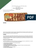 Plan de Trabajo Anual de Historia