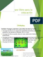 Software Libre Para La Educación