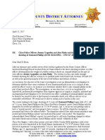 District Attorney's Review