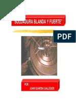 Tema 18 - Soldadura Blanda y Fuerte
