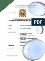 UNMSM Laboratorio Electromagnetismo Informe 1