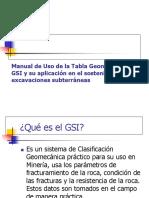 Manual de Uso de La Tabla Geomecánica GSI