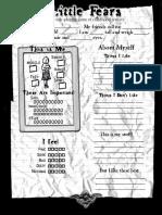 Character Sheet Front