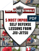 5 Most Important Self Defense Lessons From Jiu Jitsu 1.0
