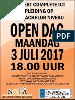 IMIT Open Dag 3 JULI 2017