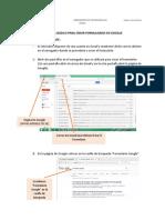 Tutorial Básico Para La Creación de Formularios en Google