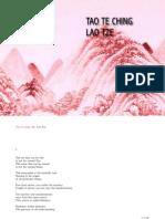 Lao tze Tao te Ching