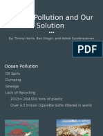 ocean pollution and our solution  hehe that rhymes