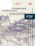 Monitoreo de La Biodiversidad en America Latina - Constantino y Tres 2016