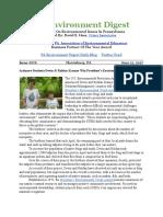 Pa Environment Digest June 12, 2017