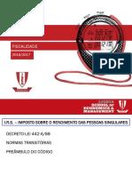 AULAS IRS-2016 Licenciatura