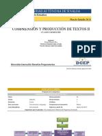 Comprensionyproducciondetextos II